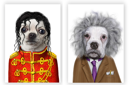 Ipawz Pets Dressed Up As Famous People